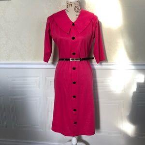 Vintage 90's  Pink Wiggle Dress